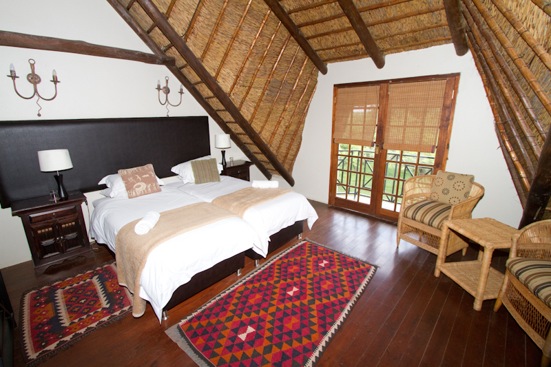 Mongena Game Lodge has extremely comfortable rooms
