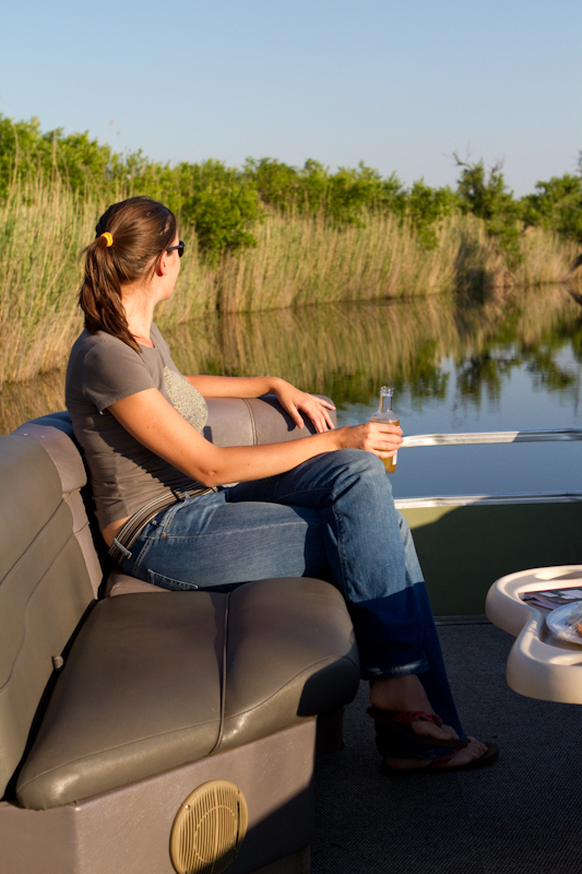 A boat cruise is a must if you visit the reserve
