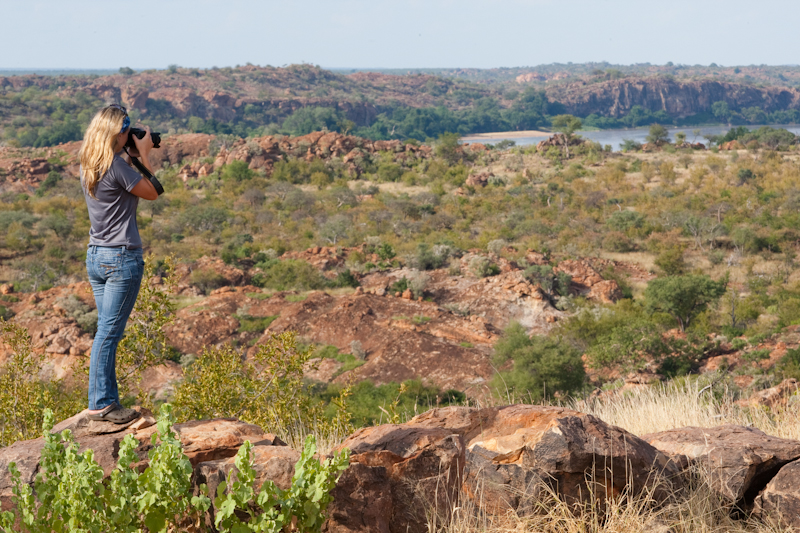 The view over the Shashe-Limpopo confluence is one of the most spectacular in South Africa.