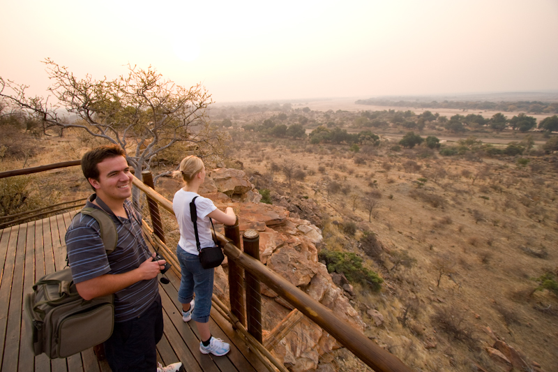You might spot baboons, eland, impala and a host of other game from the decks.