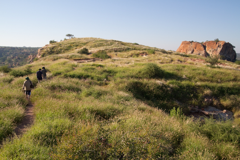 Taking a guided tour up onto Mapungubwe Hill is a must for any visitor.