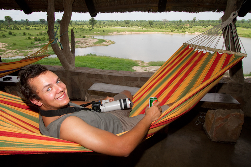 Don't visit Masuma Dam without a hammock.