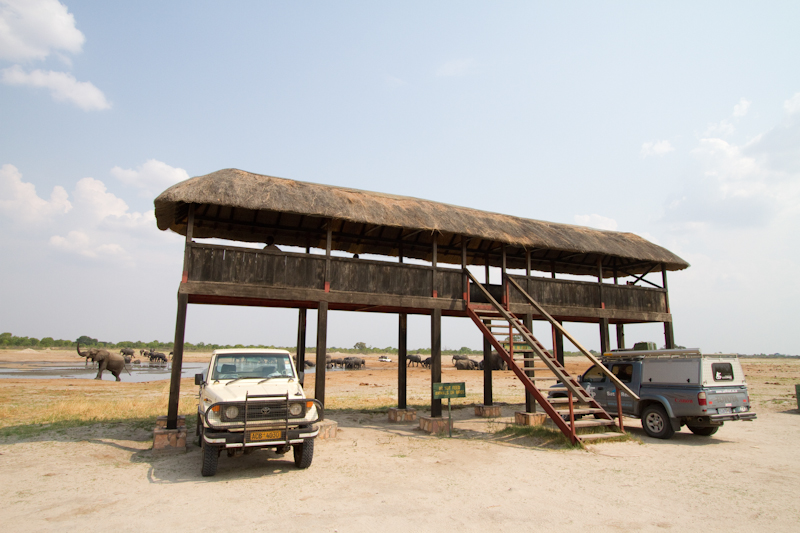 Nyamandhlovu platform near Main Camp has ablution facilities.