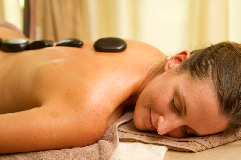 There's nothing like a hot stone massage to relax your body after the canopy tour.