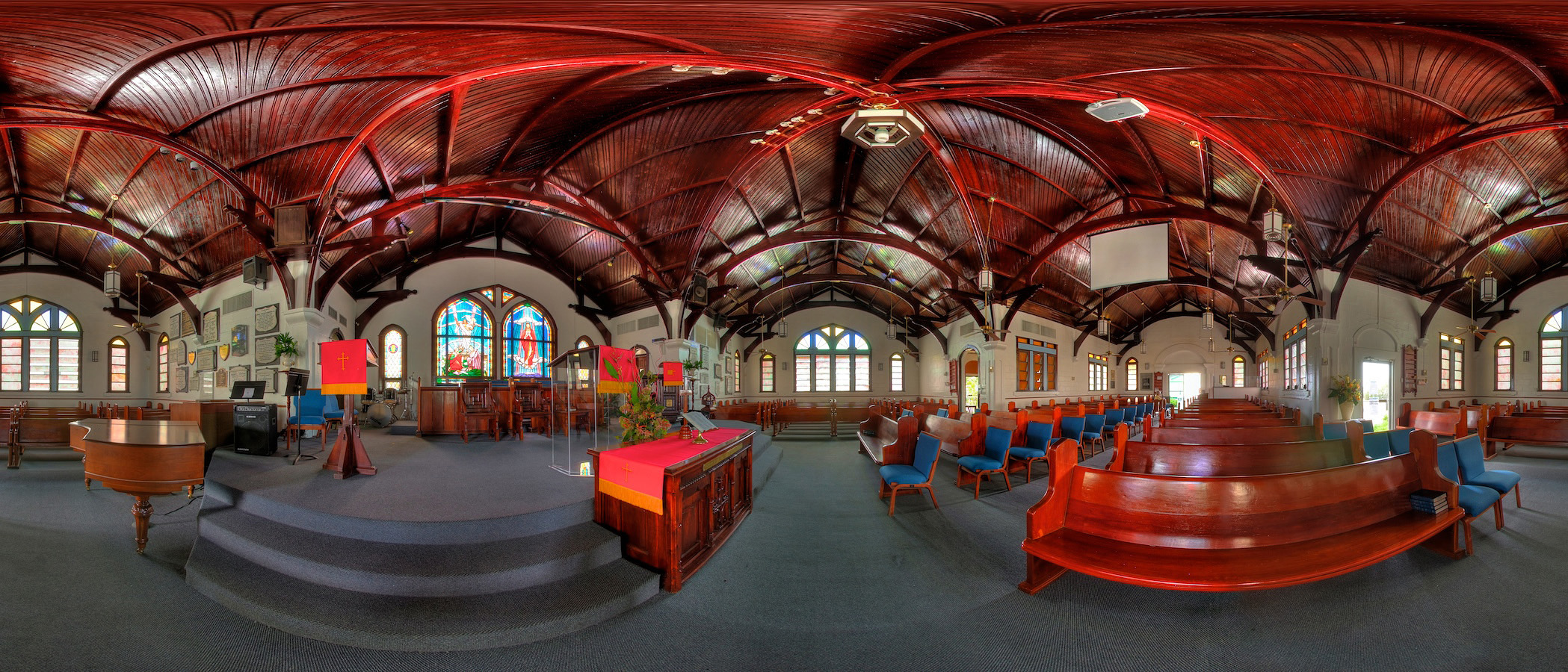 Elmslie Memorial United Church Grand Cayman Islands by Johan Deysel