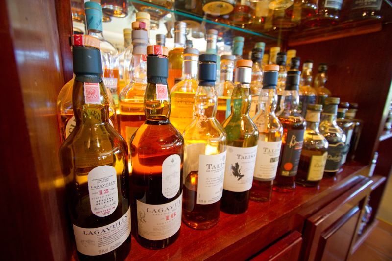 Whisky lovers have to pop in at Wild about Whisky.