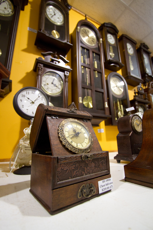 Don't forget to swing by the Clock Shop. You'll be overwhelmed!
