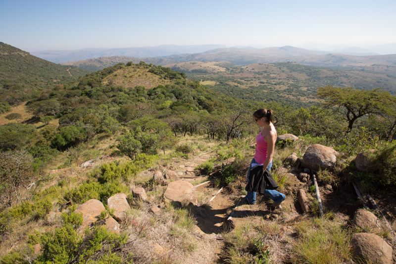 Don't leave Ithala before climbing to the top of the small koppie next to Ntshondwe.