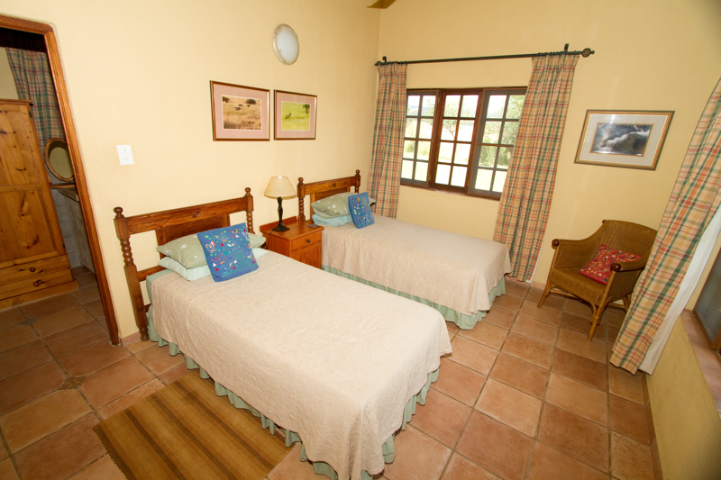 Lindani's houses have simple yet comfortable rooms.