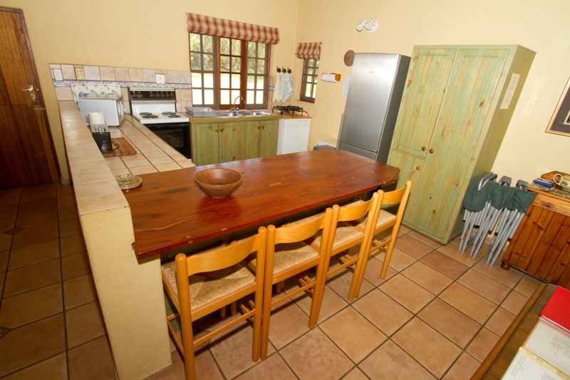Most of the houses and cottages have spacious, fully-equipped kitchens.