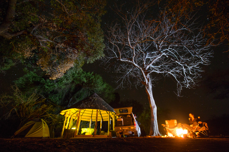 Chipinda Pools campsite is one of the most comfortable you'll ever stay at.
