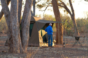 Tuli Wilderness combines comfortable camping and wild wilderness hiking in the best possible way.