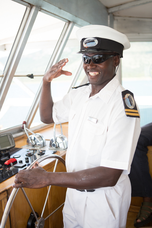 Captain, Bramson Chihota, will make sure you have an unforgettable time.